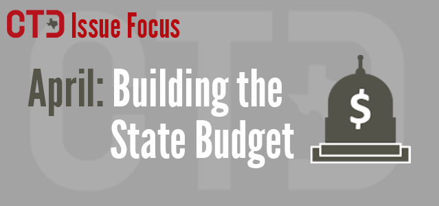 CTD Issue Focus April: Building the State Budget