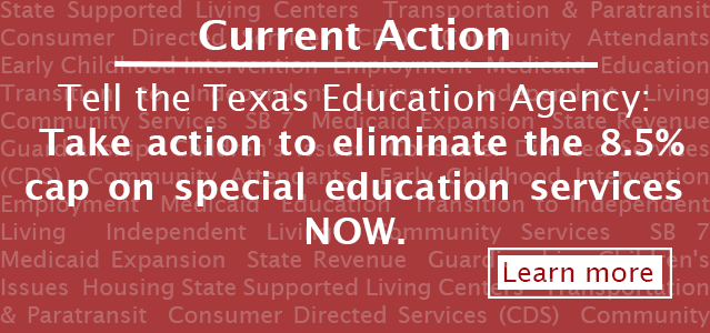 Take Action on access to Special Education services